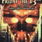 Friday the 13th - Part 8: Jason Takes Manhattan (DVD, 2002)