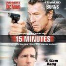 15 Minutes (DVD, 2001)