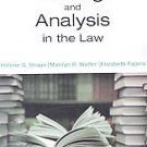 Writing and Analysis in the Law by Elizabeth Frjans Ph.D., Marilyn R. Walter ...