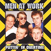 Puttin' in Overtime by Men at Work (CD, Apr-1995, Sony Music Distribution (USA))