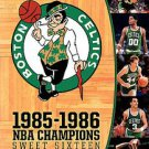 NBA Boston Celtics 1985-86 (DVD, 2008, 7-Disc Set)