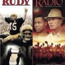 Rudy/Radio (DVD, 2010, 2-Disc Set)