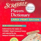 The official scrabble players dictionary (2005, Paperback, Large Print)