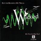 Wicked The Musical (Karaoke) by Karaoke (CD, Apr-2005, 2 Discs, Stage Stars...