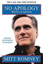 No Apology: The Case for American Greatness by Mitt Romney (2011, Paperback,...