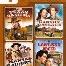 4 Movie Marathon: Classic Western Collection (DVD, 2011, 2-Disc Set)