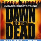 Dawn of the Dead (Blu-ray Disc, 2011, 2-Disc Set, Unrated Director's Cut;...