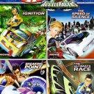 Hot Wheels AcceleRacers Boxed Set (DVD, 2006, 4-Disc Set)