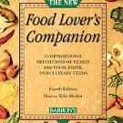 The New Food Lover's Companion by Sharon Tyler Herbst and Ron Herbst (2007,...