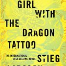 The Girl With the Dragon Tattoo by Stieg Larsson (2008, Hardcover)
