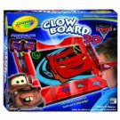 Crayola Color Explosion Cars 2 Glow Board 3D NEW