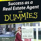 Success as a Real Estate Agent For Dummies by Dirk Zeller (2006, Paperback)
