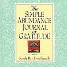 Simple Abundance Journal of Gratitude by Sarah Ban Breathnach (1996, Hardcover)