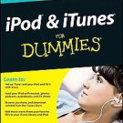 Ipod & Itunes for Dummies by Tony Bove (2010, Paperback)