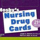 Mosby's Nursing Drug Cards by Patricia A.,RN Nutz, Patricia A. Nutz, Joseph A...