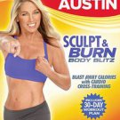 Denise Austin: Sculpt & Burn Body Blitz (DVD, 2011)
