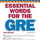 Essential Words for the Gre by Philip Geer (2010, Paperback, Revised)