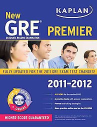 Kaplan New Gre 2011-2012 Premier by Kaplan (2011, Other, Mixed media product)