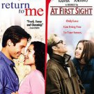 At First Sight/Return to Me (DVD, 2006, 2-Disc Set)