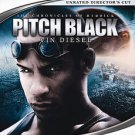 Pitch Black (HD DVD, 2006, Unrated Director's Cut, Widescreen Edition)