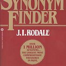 Synonym Finder by J. I. Rodale, Laurence Urdang and Nancy Laroche (1986,...