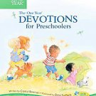 One Year Book of Devotions for Preschoolers by Crystal Bowman (2004, Hardcover)