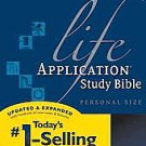 Life Application Study Bible: King James Version, Personal Size (2007, Paperb...