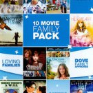 10 Movie Family Pack (DVD, 2011, 2-Disc Set)