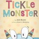 Tickle Monster by Josie Bissett (2008, Hardcover)
