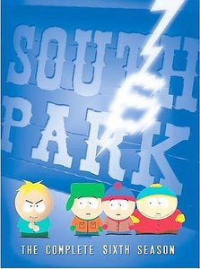 South Park - The Complete Sixth Season (DVD, 2005, 3-Disc Set, Checkpoint)
