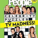 People Puzzler TV Madness! by People Magazine (2011, Paperback)