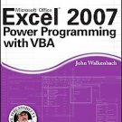 A Excel 2007 Power Programming with VB by John Walkenbach (2007, Other, Mixed...