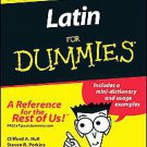 Latin for Dummies by Clifford A. Hull (2002, Paperback)