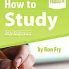 How to Study by Ron Fry (2011, Paperback)
