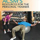 ACSM's Resources for The Personal Trainer (2009, Other, Mixed media product)