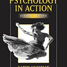 Psychology in Action by Karen Huffman and Richard Hosey (2006, Paperback, Stu...