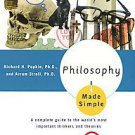 Philosophy Made Simple by Richard H. Popkin and Avrum Stroll (1993, Paperback...