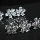 SALES - BRIDAL WEDDING BOUQUET RHINESTONE CRYSTAL HAIR PINS STICKS PICK OR COMB