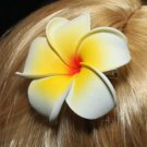 LOT OF 2 MIX BEACH FLOWER FORM PLASTIC HAIR HEADDRESS HAIR CLIP CLAW BARRETTE