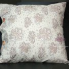 PINK BROWN CHAIR SOFA PILLOW VISCOSE HOME VINTAGE DECORATION CUSHION CASE COVER