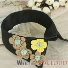2012  FLORAL VINTAGE STYLE DRESS SHIRT CHOKER BLACK NECK COLLAR NECKLACE