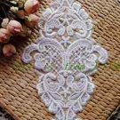 LOT OF 4 WEDDING DIY EMBROIDERY GLOVES CRAFT APPLIQUE VENICE FRENCH LACE