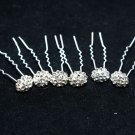 SALES - BRIDAL WEDDING BOUQUET RHINESTONE CRYSTAL HAIR PINS STICKS PICK