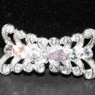 Classic Rhinestone Crystal Wedding Bridal Sash Closure Hook and Eye Clasp DIY