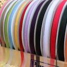 """5Yards 4/8"""" Organza Tulle Sheer Ribbon Wedding Angled Cut Ribbon - Any Color D"""