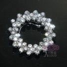 VINTAGE STYLE RHINESTONE CRYSTAL WEDDING BRIDAL SCARF RING OR SHOES CHARM CLIPS