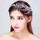 Silver Tone Vintage Style Wedding Crystal Hair Tiara Headpiece Accessories