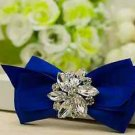 2pcs x Red/Azalea/Red/Pink/Khaki Bow Rhinestone Wedding Bridal Shoe Clips