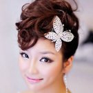 Wedding Headpiece Butterfly Rhinestone Crystal Hair Comb Jewelry Accessories
