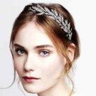Leaf Feather Vintage Style Wedding Crystal Hair Headband Headpiece Accessories